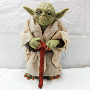 Star Wars Jedi Master Yoda Hand-Made Model