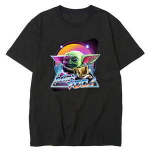 Star Wars Baby Yoda Slim Comfortable Breathable T-Shirt