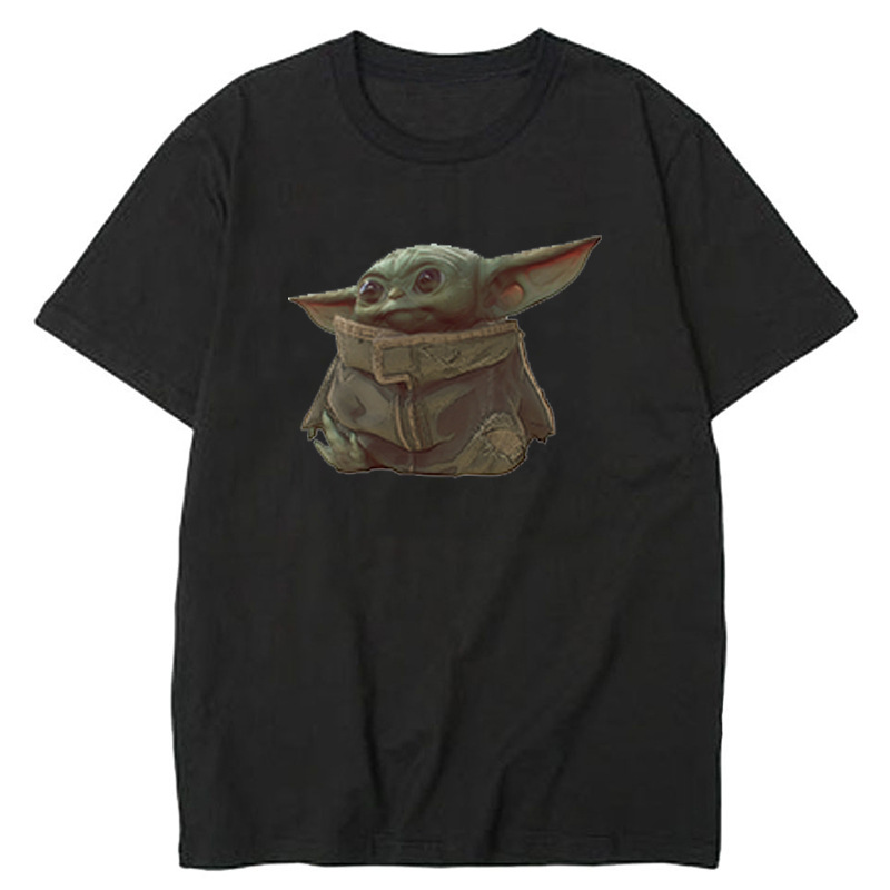 Star Wars Master Yoda Street Style Men's Black Short Sleeve T-Shirt