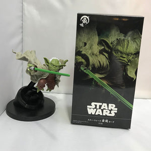 Star Wars Yoda Master Yoda Hao block boxed hand-made model 14.5CM