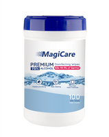 MagiCare Cleaning Wipes 75% Alcohol Disposable Hand Wipes - 100 pcs