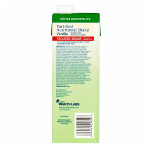 Oral Supplement Med Pass® Reduced Sugar Vanilla Flavor Ready to Use 32 oz. Carton