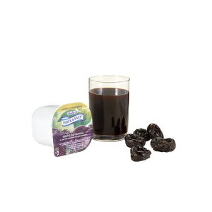 Thickened Beverage Thick & Easy® 4 oz. Portion Cup Prune Flavor Ready to Use Honey Consistency