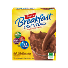 Load image into Gallery viewer, Oral Supplement Carnation® Breakfast Essentials® Rich Milk Chocolate Flavor Powder 1.26 oz. Individual Packet