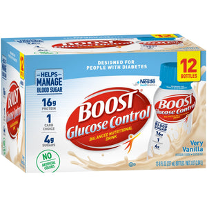 Oral Supplement Boost® Glucose Control® Vanilla Delight Flavor Ready to Use 8 oz. Bottle