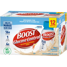 Load image into Gallery viewer, Oral Supplement Boost® Glucose Control® Vanilla Delight Flavor Ready to Use 8 oz. Bottle