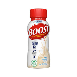 Oral Supplement Boost® Original Very Vanilla Flavor Ready to Use 8 oz. Bottle