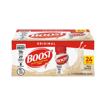 Load image into Gallery viewer, Oral Supplement Boost® Original Very Vanilla Flavor Ready to Use 8 oz. Bottle