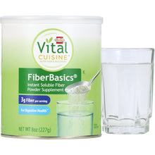 Load image into Gallery viewer, Oral Fiber Supplement Hormel Vital Cuisine® FiberBasics® Unflavored Powder 8 oz. Can