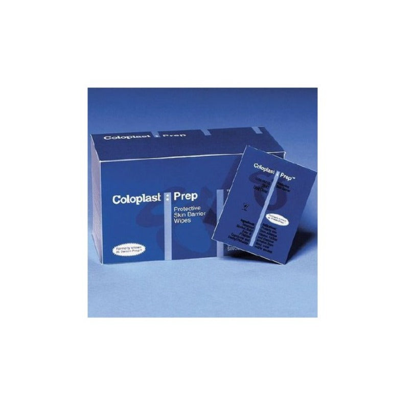 Skin Barrier Wipe Coloplast® Prep™ 50 to 75% Strength Propan-2-ol Individual Packet NonSterile