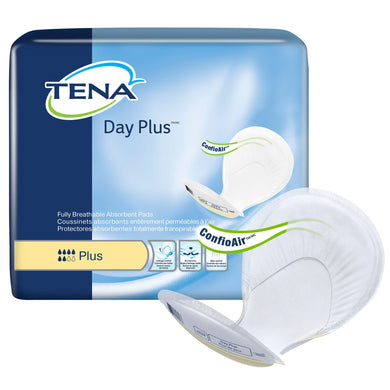 Incontinence Liner TENA® Day Plus™ 24 Inch Length Heavy Absorbency Dry-Fast Core™ One Size Fits Most Adult Unisex Disposable