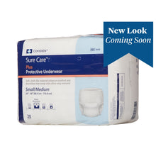 Load image into Gallery viewer,  Unisex Adult Absorbent Underwear Sure Care™ Plus Pull On with Tear Away Seams Small / Medium Disposable Heavy Absorbency
