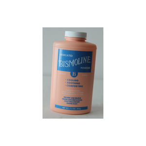 Body Powder Bismoline® 7-1/4 oz. Lightly Scented Shaker Bottle Talc / Boric Acid / Zinc Oxide