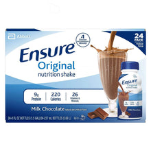 Load image into Gallery viewer, Oral Supplement Ensure® Original Chocolate Flavor Ready to Use 8 oz. Bottle