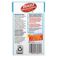 Load image into Gallery viewer, Oral Supplement Boost® Glucose Control® Strawberry Flavor Ready to Use 8 oz. Tetra Brik