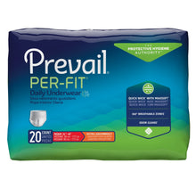 Load image into Gallery viewer,  Unisex Adult Absorbent Underwear Prevail® Per-Fit® Pull On with Tear Away Seams Medium Disposable Heavy Absorbency