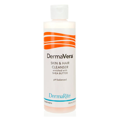 Shampoo and Body Wash DermaVera® 7.5 oz. Flip Top Bottle Scented
