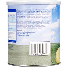 Load image into Gallery viewer, Food and Beverage Thickener Thick & Easy® 8 oz. Canister Unflavored Powder Consistency Varies By Preparation