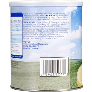 Food and Beverage Thickener Thick & Easy® 8 oz. Canister Unflavored Powder Consistency Varies By Preparation