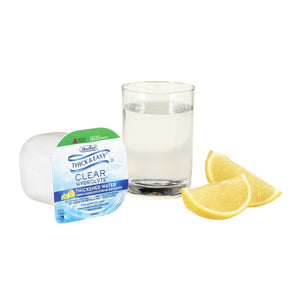 Thickened Water Thick & Easy® Hydrolyte® 4 oz. Portion Cup Lemon Flavor Ready to Use Nectar Consistency