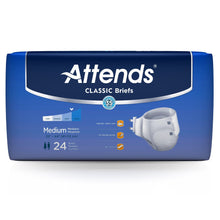 Load image into Gallery viewer,  Unisex Adult Incontinence Brief Attends® Classic Medium Disposable Heavy Absorbency