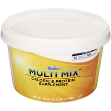 Load image into Gallery viewer, Oral Protein Supplement Multi Mix™ Calorie & Protein Unflavored 3.5 lbs. Tub Powder