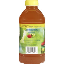 Load image into Gallery viewer, Thickened Beverage Thick & Easy® 46 oz. Bottle Kiwi Strawberry Flavor Ready to Use Honey Consistency
