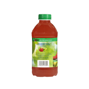 Thickened Beverage Thick & Easy® 46 oz. Bottle Kiwi Strawberry Flavor Ready to Use Nectar Consistency