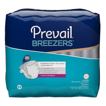 Load image into Gallery viewer,  Unisex Adult Incontinence Brief Prevail® Breezers® X-Large Disposable Heavy Absorbency
