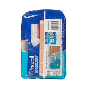 Unisex Adult Incontinence Brief Prevail® Breezers® X-Large Disposable Heavy Absorbency