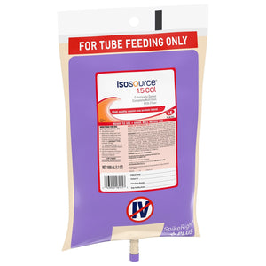 Tube Feeding Formula Isosource® 1.5 Cal 33.8 oz. Bag Ready to Hang Unflavored Adult
