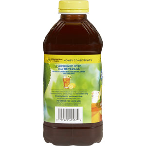 Thickened Beverage Thick & Easy® 46 oz. Bottle Iced Tea Flavor Ready to Use Honey Consistency