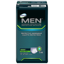 Load image into Gallery viewer,  Male Adult Absorbent Underwear TENA® MEN™ Pull On with Tear Away Seams Medium / Large Disposable Moderate Absorbency