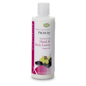 Hand and Body Moisturizer PROVON® 8 oz. Bottle Scented Lotion CHG Compatible