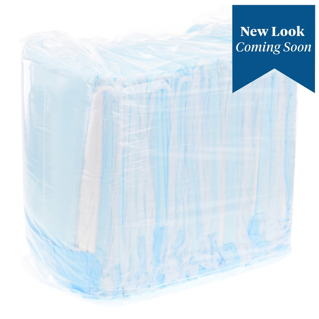Underpad Wings™ Plus 30 X 36 Inch Disposable Fluff / Polymer Heavy Absorbency