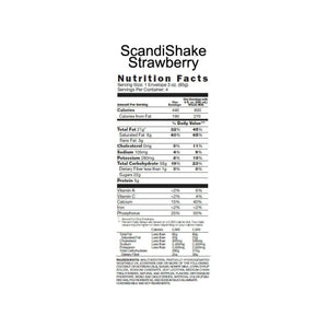 Oral Supplement Scandishake® Strawberry Flavor Powder 3 oz. Individual Packet