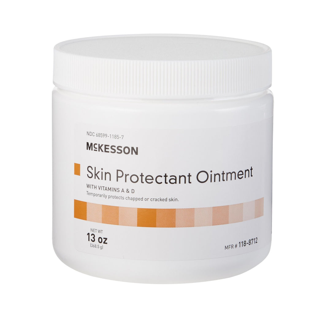 Skin Protectant McKesson 13 oz. Jar Unscented Ointment