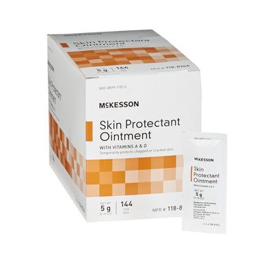 Skin Protectant McKesson 5 Gram Individual Packet Unscented Ointment