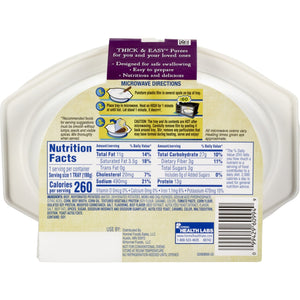 Puree Thick & Easy® Purees 7 oz. Tray Beef with Potatoes / Corn Flavor Ready to Use Puree Consistency