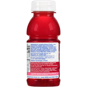 Thickened Beverage Thick-It® Clear Advantage® 8 oz. Bottle Cranberry Flavor Ready to Use Nectar Consistency