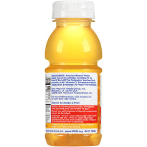 Thickened Beverage Thick-It® Clear Advantage® 8 oz. Bottle Apple Flavor Ready to Use Honey Consistency