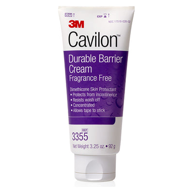 Skin Protectant 3M™ Cavilon™ 3.25 oz. Tube Unscented Cream CHG Compatible