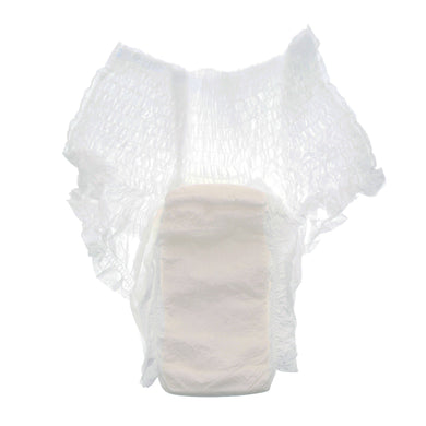 Unisex Adult Absorbent Underwear Simplicity™ Pull On with Tear Away Seams Large Disposable Moderate Absorbency