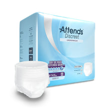 Load image into Gallery viewer,  Unisex Adult Absorbent Underwear Attends® Discreet Pull On with Tear Away Seams Large Disposable Heavy Absorbency