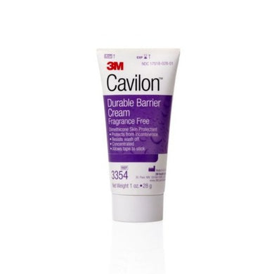 Skin Protectant 3M™ Cavilon™ 1 oz. Tube Unscented Cream CHG Compatible