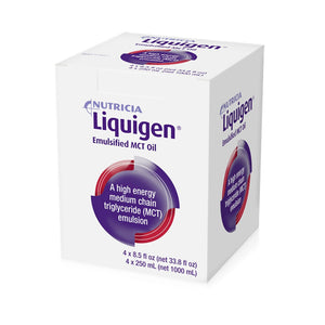 MCT Oral Supplement / Tube Feeding Formula Liquigen® Unflavored 8.5 oz. Bottle Ready to Use