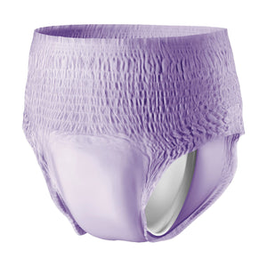 Female Adult Absorbent Underwear Prevail® For Women Daily Underwear Pull On with Tear Away Seams Small / Medium Disposable Heavy Absorbency