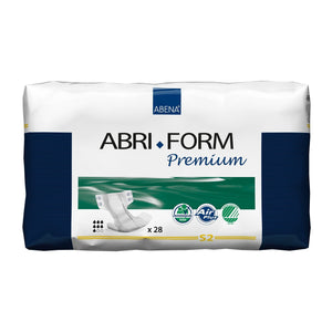 Unisex Adult Incontinence Brief Abri-Form™ Premium S2 Small Disposable Heavy Absorbency