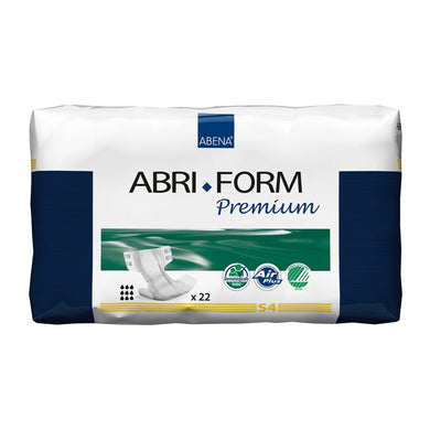 Unisex Adult Incontinence Brief Abri-Form™ Premium S4 Small Disposable Heavy Absorbency