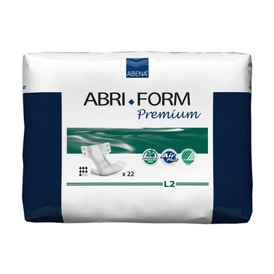 Unisex Adult Incontinence Brief Abri-Form™ Premium L2 Large Disposable Heavy Absorbency